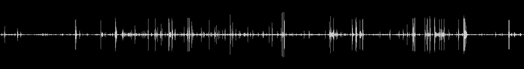 ボックスロードメタルウッドの未再生の波形