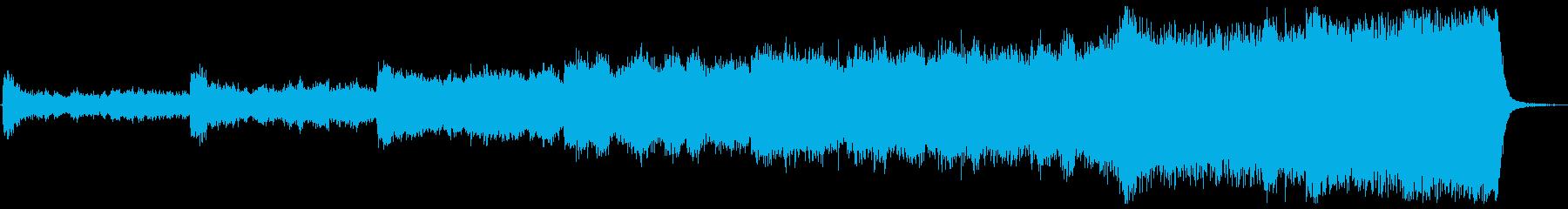 壮大 主人公覚醒 オーケストラの再生済みの波形