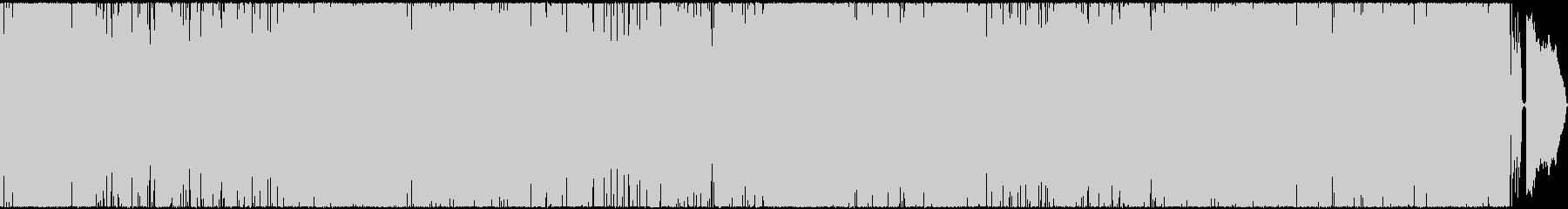 渋谷系フレーバーアニメOP風の未再生の波形