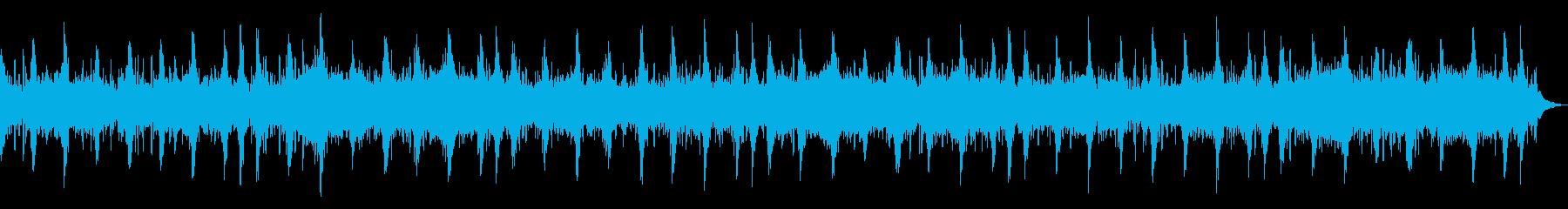 生命自然感動宇宙アンビエントヒーリングaの再生済みの波形