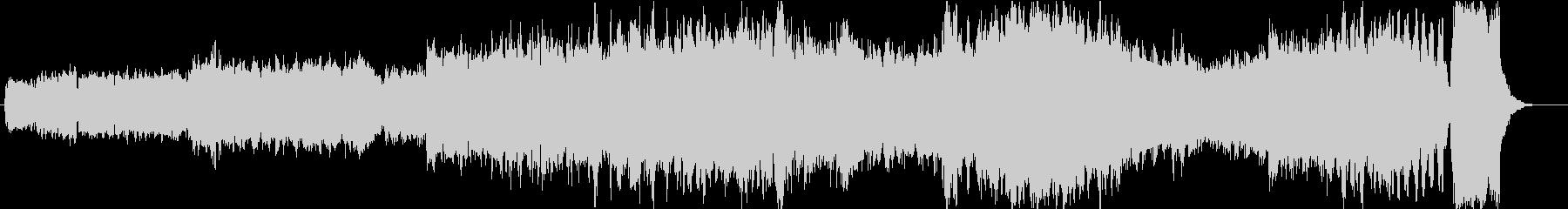 バッハ 小フーガト短調の未再生の波形