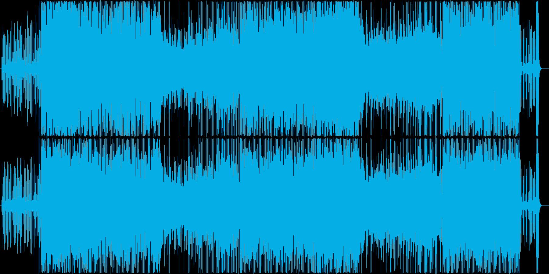 【生演奏】疾走感のあるピアノインストの再生済みの波形