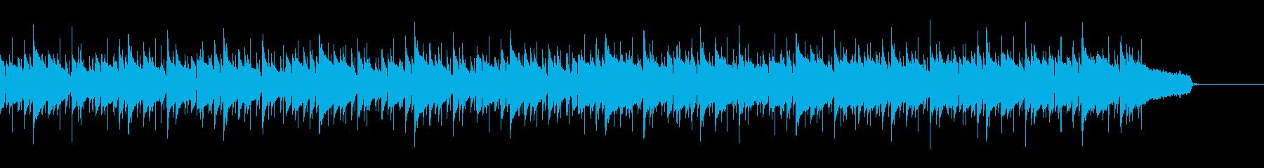 おしゃれカフェのボサノバ風ウクレレポップの再生済みの波形