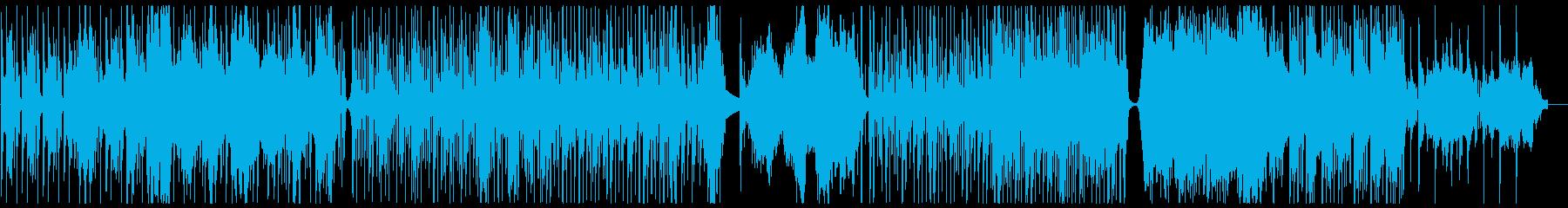 【生演奏】サイダーの泡を再現した弦楽器曲の再生済みの波形