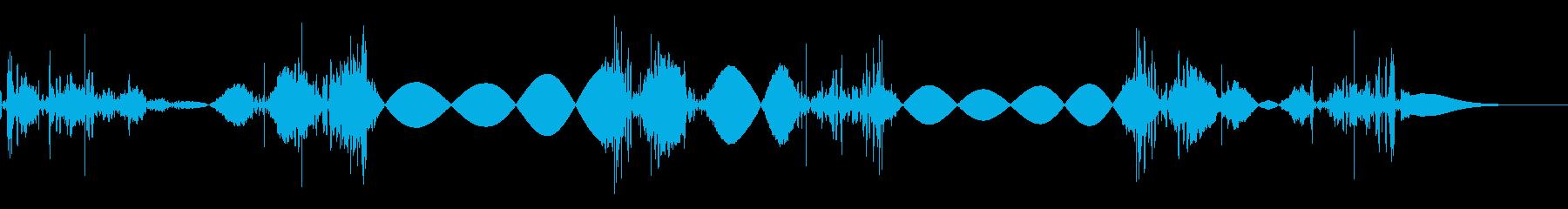 シャカシャカシャカ(高速)の再生済みの波形