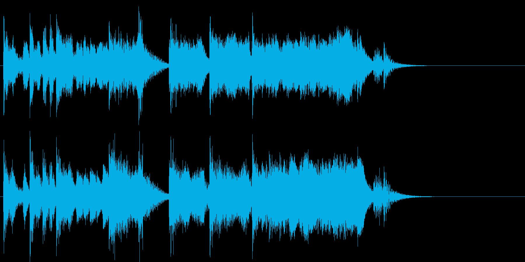 演歌なジングル アイキャッチ 5の再生済みの波形