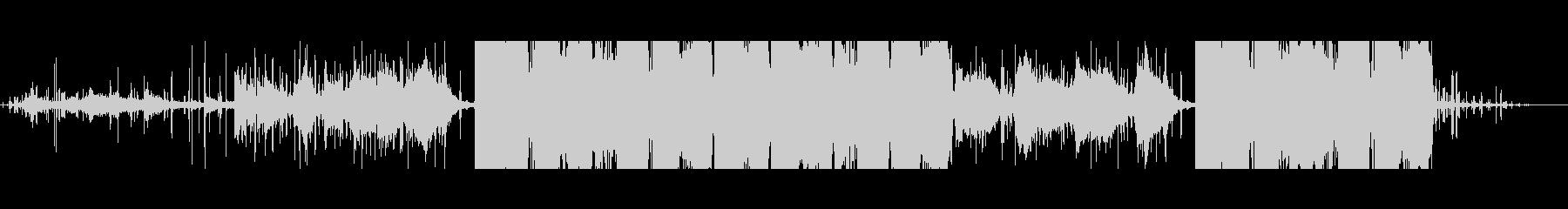 ピアノバー、フォーク、ソフトの未再生の波形