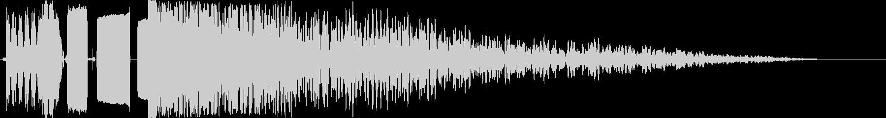 ラジオジングル制作キット DJ DROPの未再生の波形