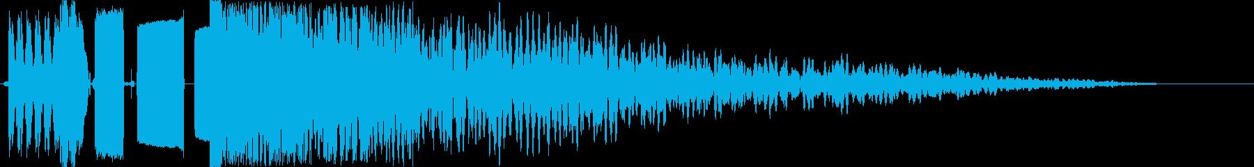 ラジオジングル制作キット DJ DROPの再生済みの波形