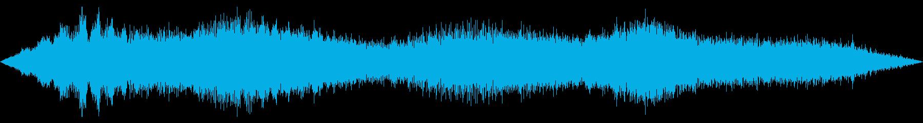 スペースドローン:かすみ目の再生済みの波形
