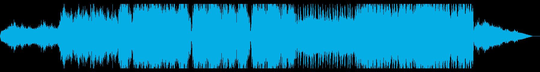壮大さの広がるアンビエントの再生済みの波形