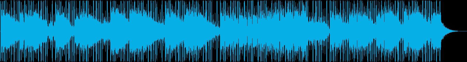 怪しい雰囲気満載のエレクトリックサウンドの再生済みの波形