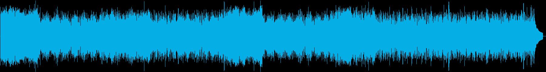 イタリア郊外風の3拍子BGMメロ抜き版の再生済みの波形