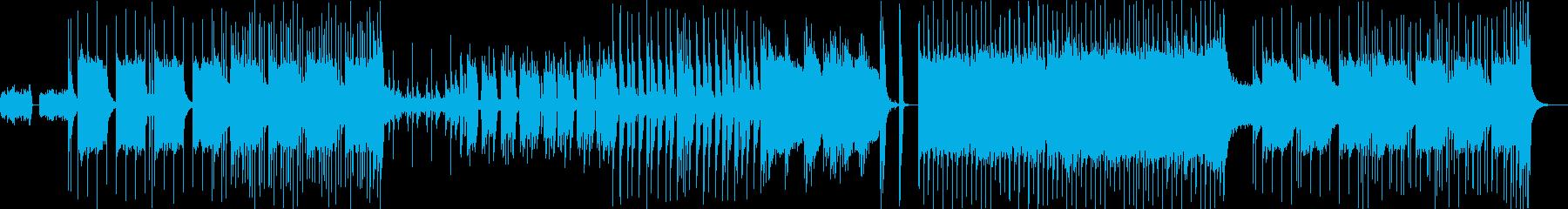 ヘヴィーレゲエロックの再生済みの波形