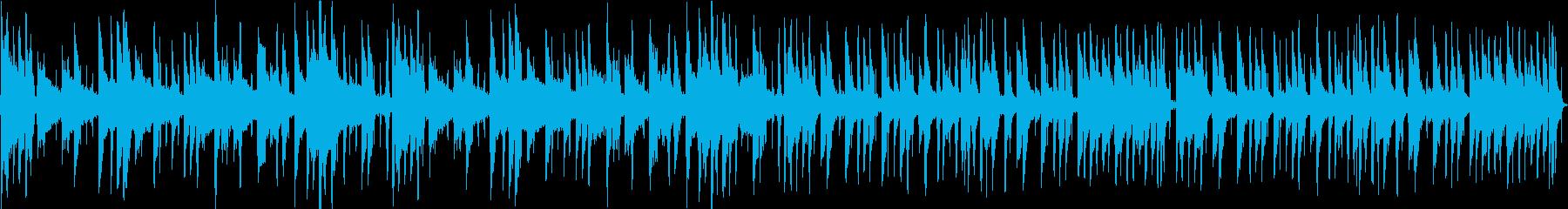 ムーディなR&B系のBGMの再生済みの波形
