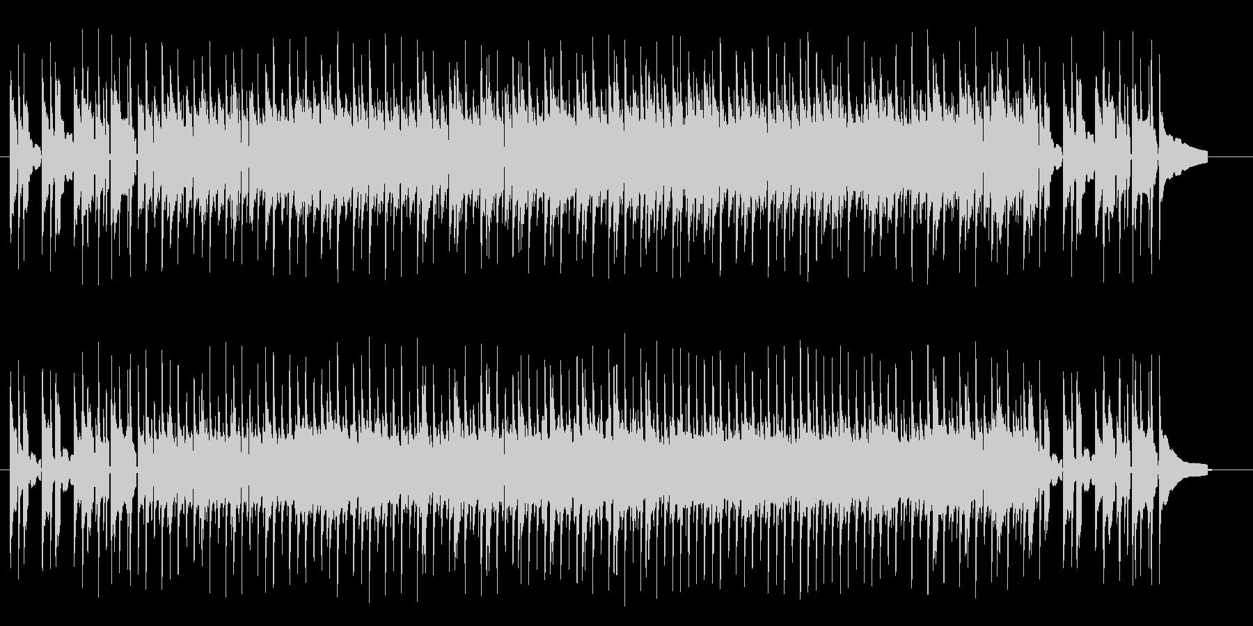 軽快でリズミカルなアコギサウンドの未再生の波形