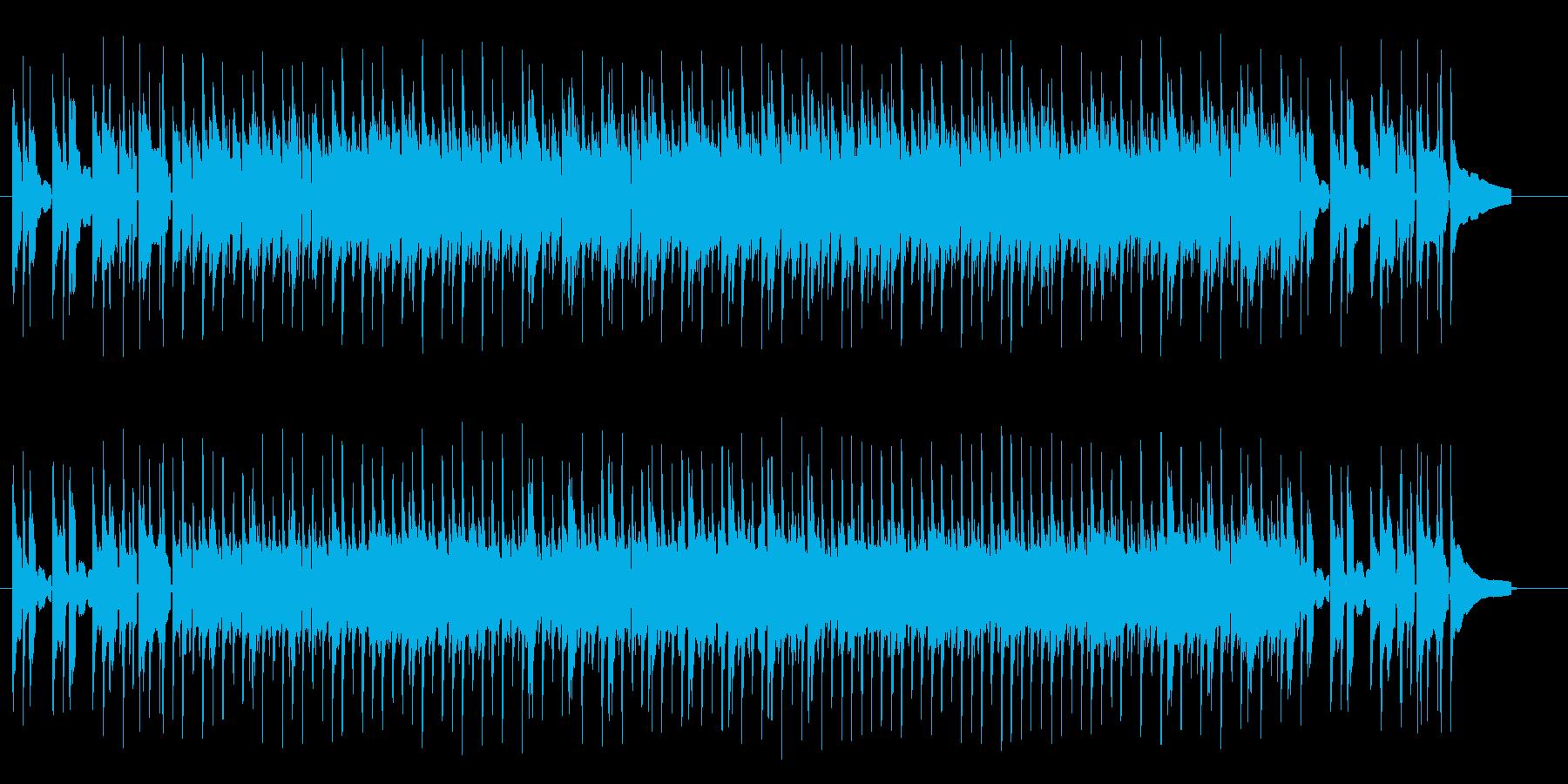 軽快でリズミカルなアコギサウンドの再生済みの波形