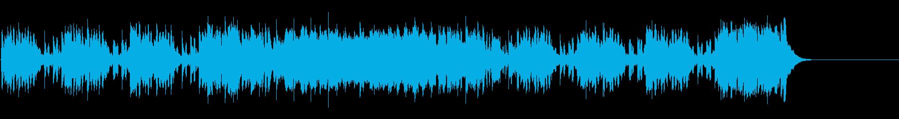 可愛らしくコミカルなセミクラ/ポップの再生済みの波形