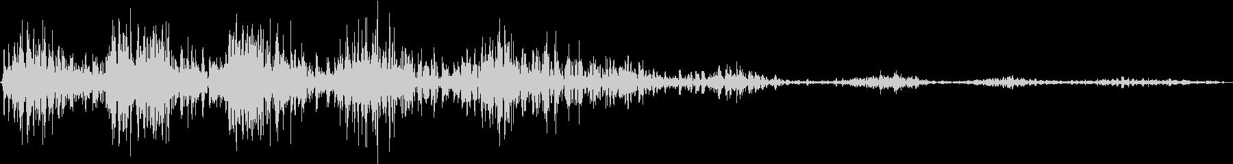 モンスター 笑い声 02の未再生の波形