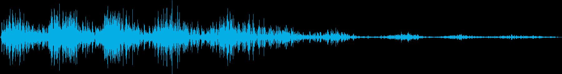 モンスター 笑い声 02の再生済みの波形