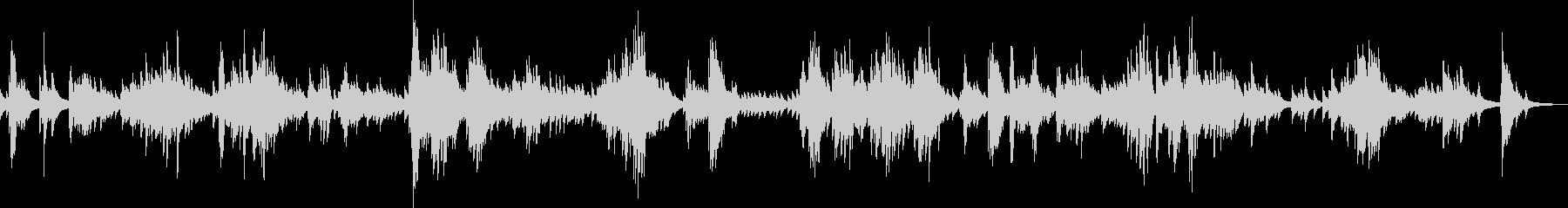 A piano piece that trembles lonely's unreproduced waveform
