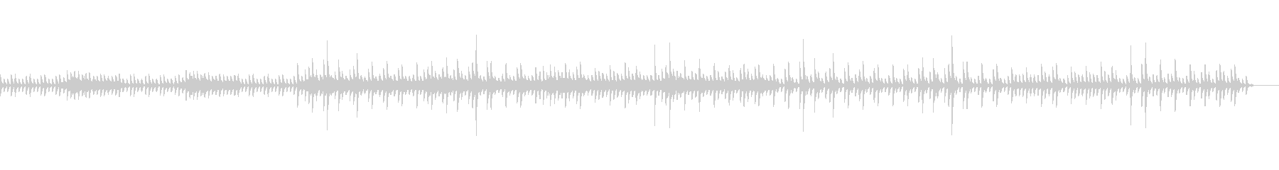 bpm128バージョンの未再生の波形