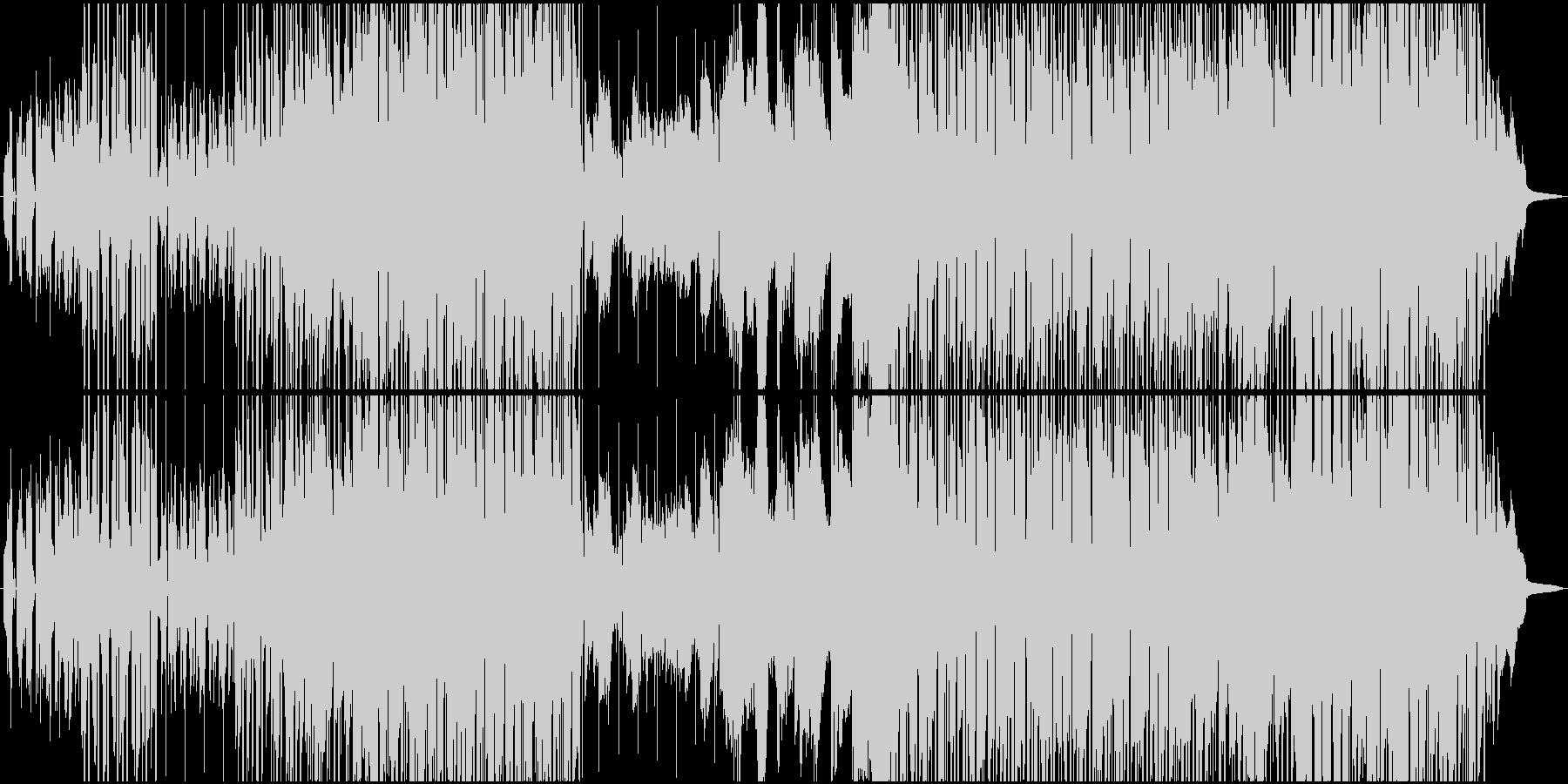 静かなバーで黄昏るR&B風バラードの未再生の波形
