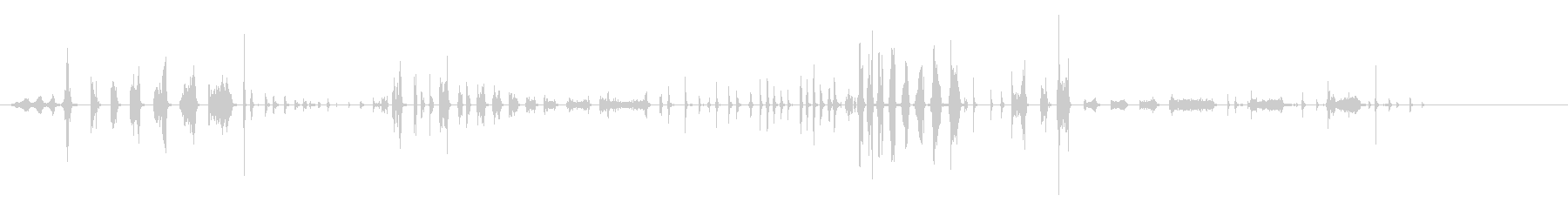 コメディカースタート、アイドル、R...の未再生の波形