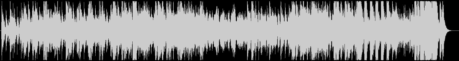 ホルンの推進力が勇壮なオーケストラマーチの未再生の波形