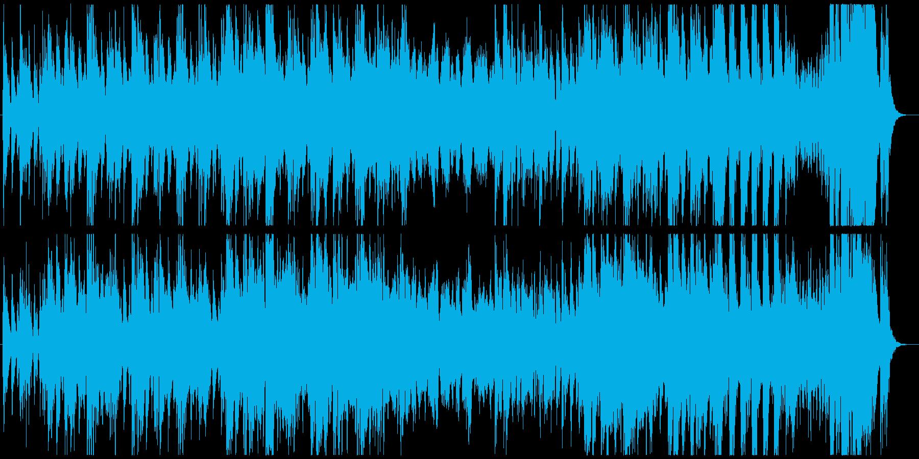 ホルンの推進力が勇壮なオーケストラマーチの再生済みの波形