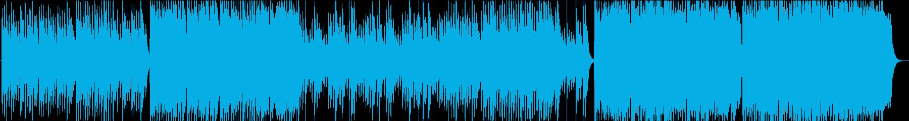 祭/和太鼓・琴・尺八の穏やかな和風BGMの再生済みの波形