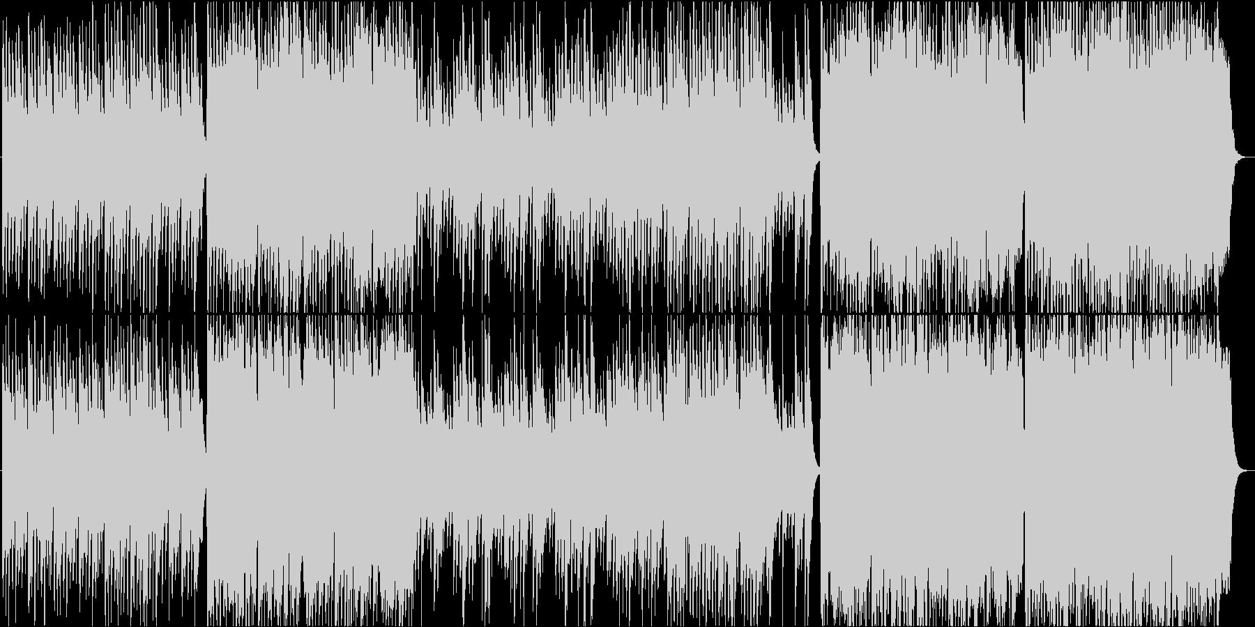 祭/和太鼓・琴・尺八の穏やかな和風BGMの未再生の波形