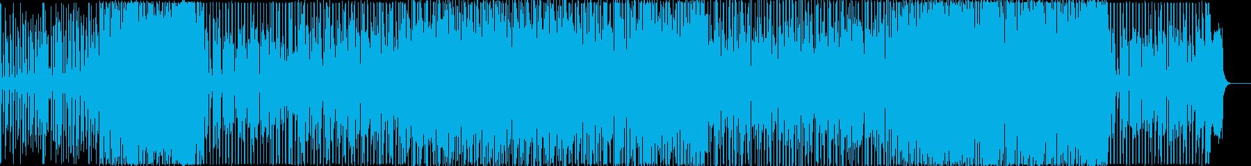 緊迫感のあるラテン音楽の再生済みの波形
