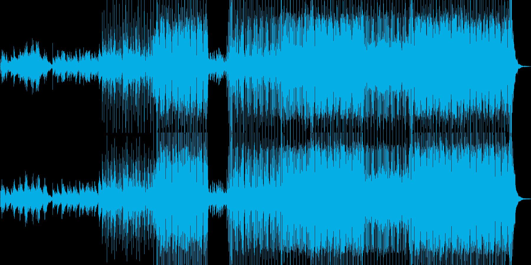 スローでロックポップ。の再生済みの波形