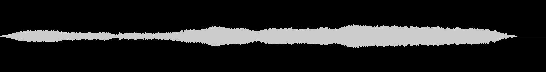 花火、ホイッスル2の未再生の波形