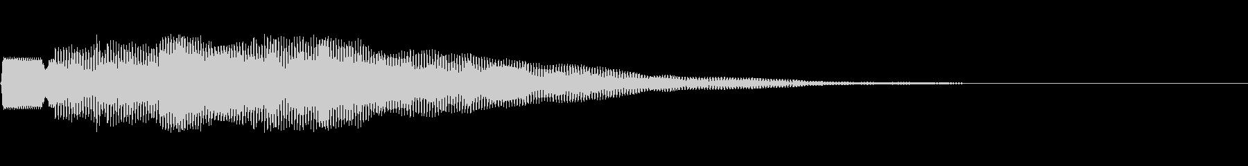 テュルル:アナウンス・呼び出し・案内の未再生の波形