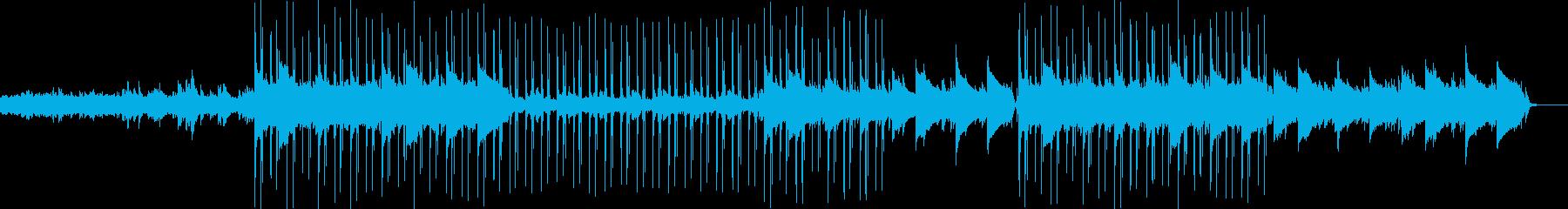 ダークでシリアスなLofiの再生済みの波形