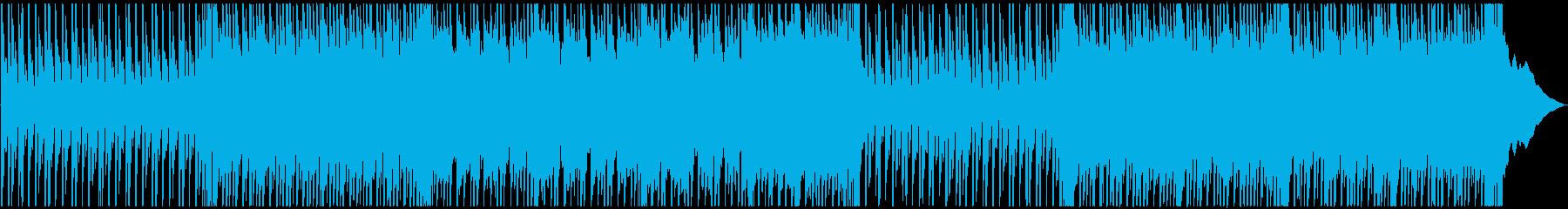 前向きモチーベーション上昇系ポップロックの再生済みの波形