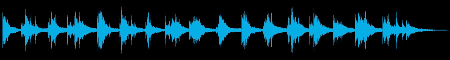 爽やか 物語の始まり 花 ■ ピアノソロの再生済みの波形