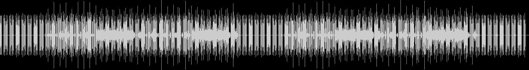 どうぶつのゲーム風な曲(ベースなし)の未再生の波形