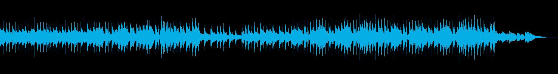 わくわく感のあるかわいいBGMの再生済みの波形