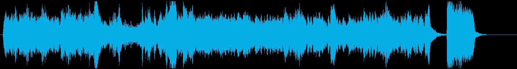 ヴァイオリン・チェロ2重奏の再生済みの波形