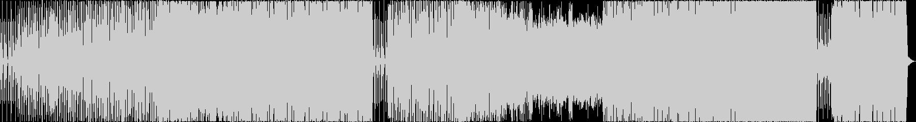 ロックエレクトロニック サスペンス...の未再生の波形