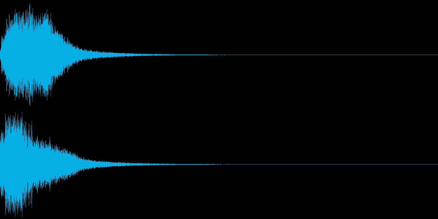 シャキーン(魔法、星、光の輝きに)6BVの再生済みの波形