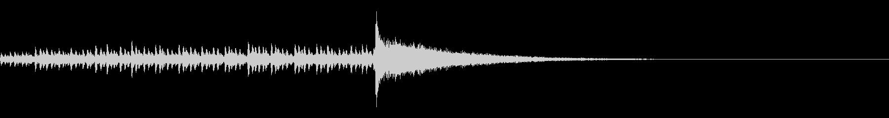 ドラムロール//結果発表_03の未再生の波形