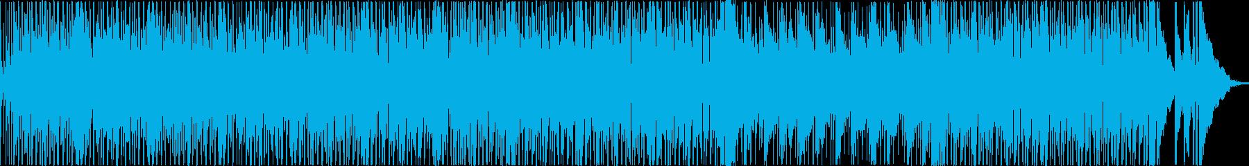 アップテンポ、ポジティブ、ファンク...の再生済みの波形