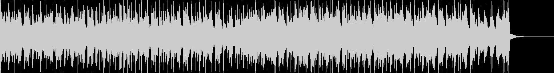 和風エキサイティングEDM・エンディングの未再生の波形