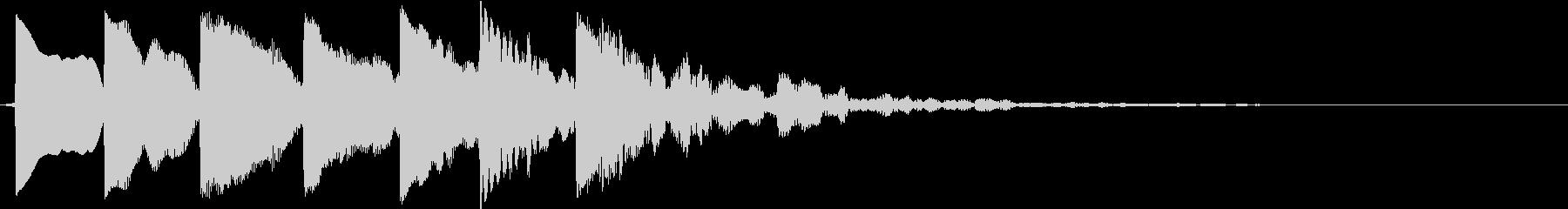 レペルアップの未再生の波形