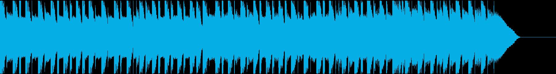 楽しいポップジングル、シンキングタイムの再生済みの波形