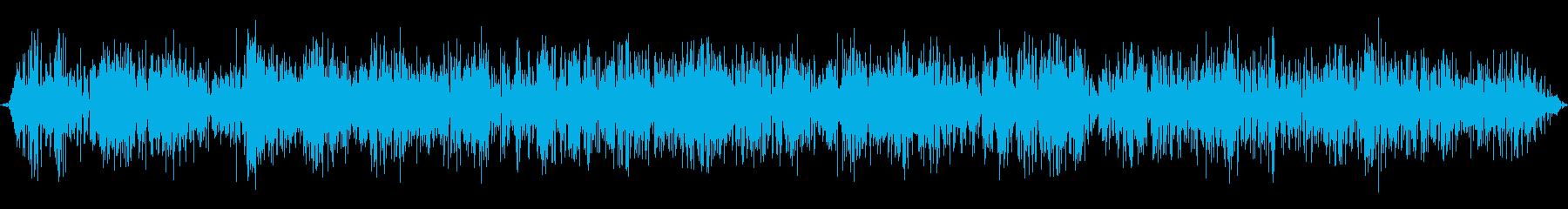麻雀牌を混ぜる音です。実際に4人で混ぜ…の再生済みの波形
